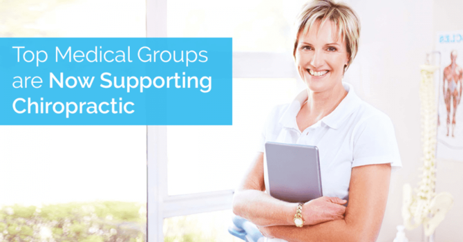 The Growing Support for Chiropractic by the Medical Community image
