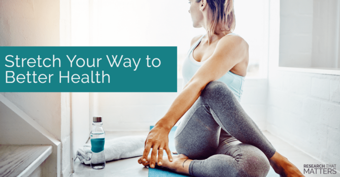 Stretching to Reduce Pain and Injury image
