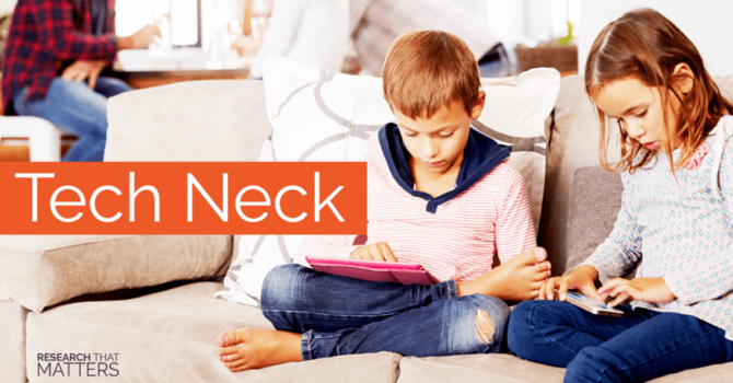 The Posture Epidemic Plaguing Pre-Teens image