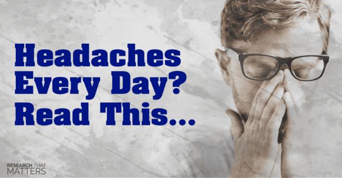 What Causes Chronic Headaches? image