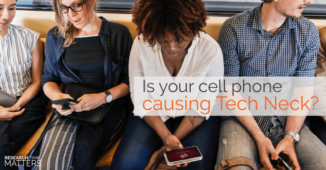 """Is Your Phone Causing You to Have Pain from """"Tech Neck?"""" image"""