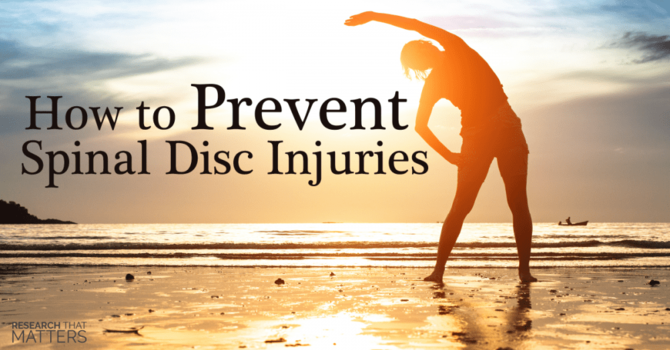 Preventing Disc Injuries in a Sedentary World image