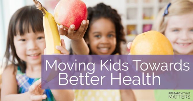 Keep your Kid Moving Towards Great Health image