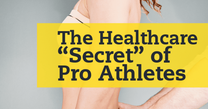 Pro Athletes benefit from Chiropractic--and so can you! image